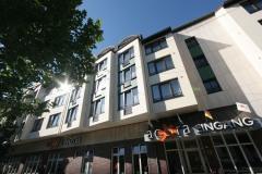 Das Acora-Hotel in Bochum, aufgenommen am 09.09.2008. +++ Foto: Lutz Leitmann/Stadt Bochum, Presseamt